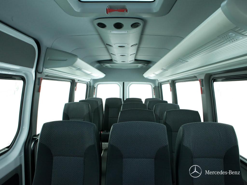Bancadas individuais reclináveis - Van Sprinter 515 - 19 Lugares