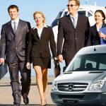 Aluguel de van para viagens de negócios