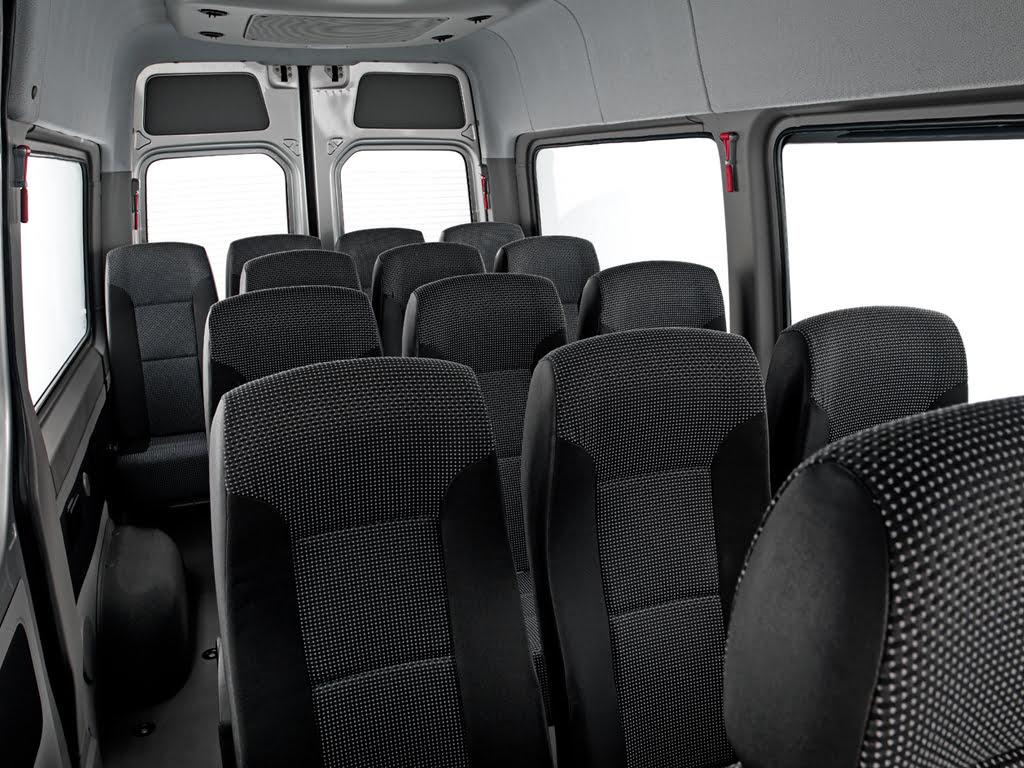 Bancadas Individuais reclináveis - Van Sprinter 415