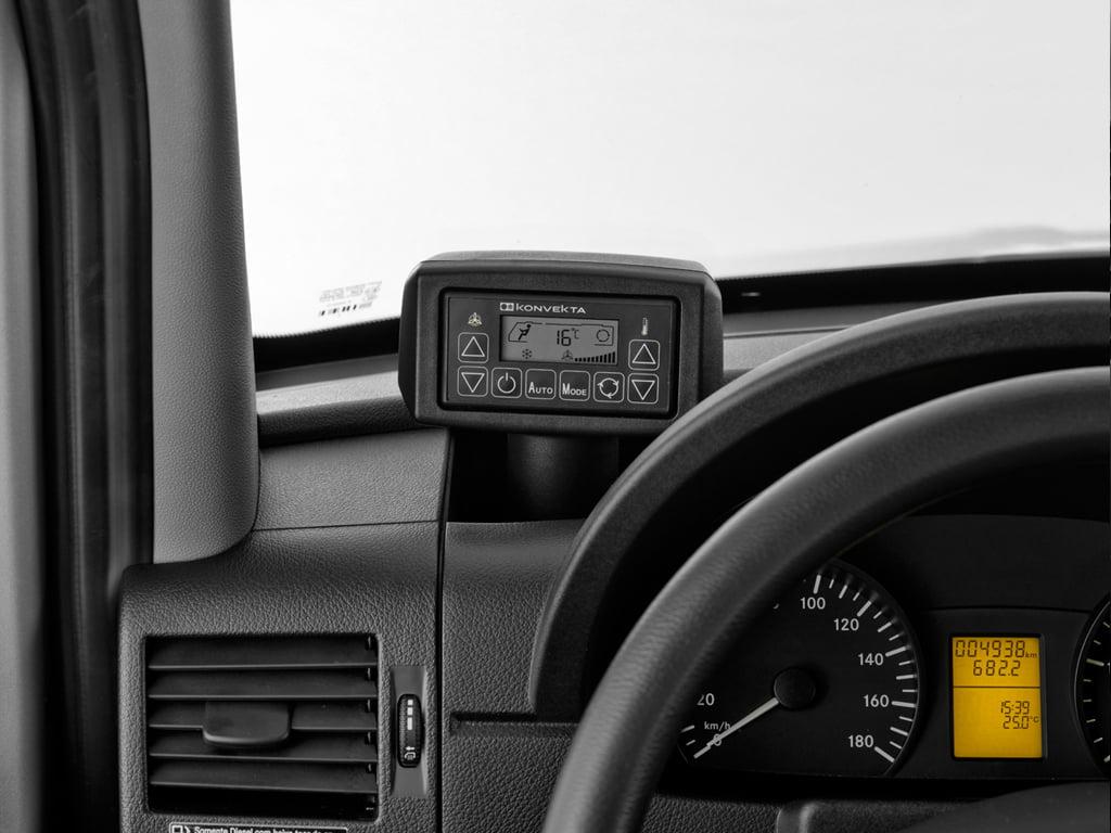 Controle do ar condicionado traseiro - Van Sprinter 415